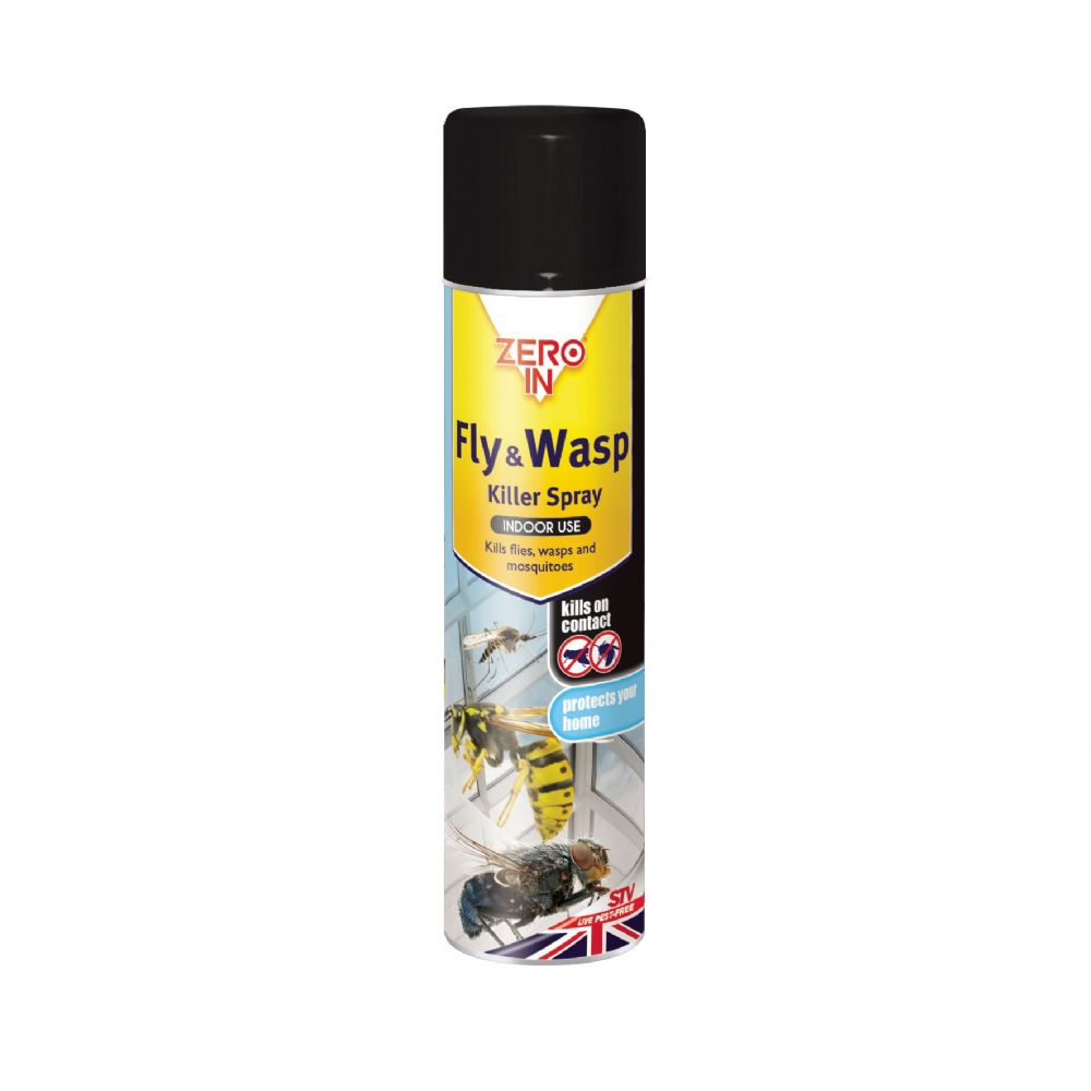 STV Zero In Fly & Wasp Spray - 300ml